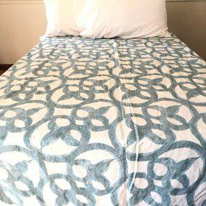 West Elm Twin Size Duvet Cover 100% Organic Cotton